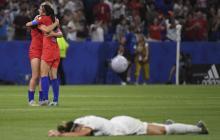 Estados Unidos, finalista del Mundial femenino tras ganar a Inglaterra 2-1