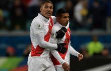 """Perú ganó muy bien"": Paolo Guerrero"
