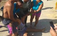 Enfrentamientos entre el Esmad y comunidad en Sabanalarga