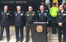 Dirigentes de la Policía Nacional de Colombia.