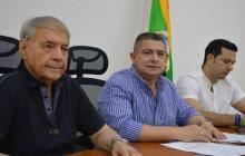 Eugenio Díaz, Juan J. Vergara y Juan C. Fuentes.