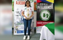 Barranquillera Andrea Albor ganó medalla de plata en Nacional de Ajedrez