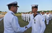 152 nuevos marinos se gradúan de la Escuela Naval de Suboficiales ARC Barranquilla
