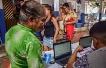 Arrancó semana de inscripción de cédulas en puntos de votación