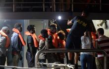 Barco humanitario rescata a 44 migrantes en el Mediterráneo