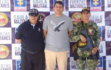 Roger Hernández Martínez, capturado.