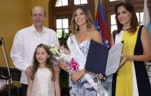 Patricia Hurtado Dávila ya tiene la banda de anfitriona de la Fiesta del Mar 2019