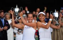 Strycova y Hsieh Su-Wei ganan el título de dobles femeninos en Wimbledon