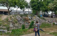 """""""Exceso de basura en Las Cayenas es inhumano"""": vecinos"""
