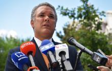 El presidente Iván Duque.