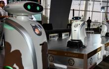 Los simpáticos robots limpiadores que se tomaron Singapur