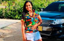 En video | Hermana de Diomedes Dionisio Díaz fue baleada en un hurto