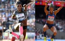 Catherine Ibarguen y Yulimar Rojas se medirán en las competencias de Lima 2019.