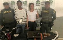 Capturan a dos presuntos asaltantes en el barrio Siete de Abril