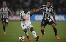 Atlético Mineiro de Yimmi Chará vence 1-0 al Botafogo en la Copa Sudamericana