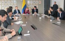 Reunión del Ministerio de Trabajo y directivos de Rappi.