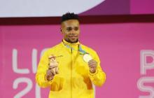Mosquera, el colombiano devoto del oro quiere tocar el cielo en Tokio 2020