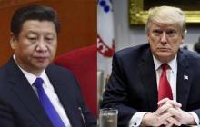 Xi Jinping, presidente de  la República Popular China y Donald Trump, presidente de Estados Unidos.