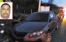 Alias Baltazar se movilizaba en un Mazda blindado.