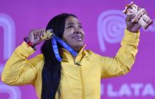 La samaria Mercedes Pérez suma otro oro para Colombia en los Panamericanos