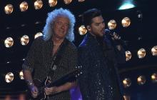 Brian May (Queen) y Adam Lambert.