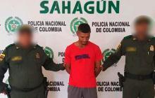 Rafael Reyes habría cometido el ilícito en Sahagún.