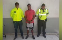 Miguel Camargo Arteaga, capturado.