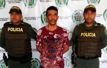 El capturado por las autoridades fue identificado como Fernando Andrade Sánchez.