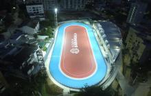 Las luminarias fueron reparadas tras la queja de los deportistas, que fueron publicadas por EL HERALDO.