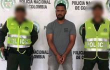 Alexander Maza García, sujeto capturado.
