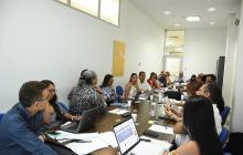 Aspecto de la reunión del Consejo Académico de la Uniatlántico.