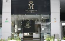Fachada de la Casa de Moneda de México.