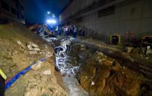 Más de 12 horas sin agua: continúan reparaciones de tuberías en sur de Barranquilla