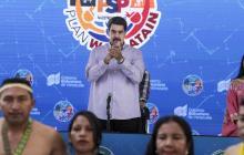 Maduro en una intervención en Caracas.