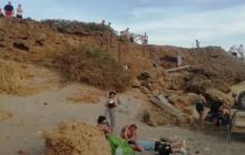 Remiten a Barranquilla a 2 turistas heridos en accidente en La Guajira