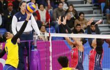 Dominicana vence a Colombia y se alza con el título del voleibol femenino en Lima-2019