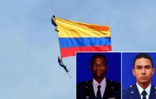 Duque ordena suspender maniobras aéreas por muerte de dos militares en Medellín