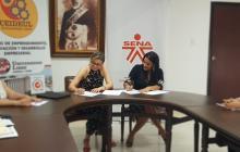 El Sena y la Universidad Libre  firman convenio de cooperación interinstitucional