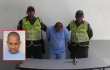 Con 9 anotaciones judiciales y lo capturan con arma de fuego en cercanías a un banco