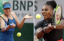Maria Sharapova y Serena Williams.