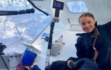"""Joven ambientalista Greta Thunberg llegaría el martes a Nueva York en velero """"cero carbono"""""""