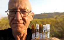 """Un granjero """"resucita"""" perfumes de la Antigüedad cerca del mar Muerto"""
