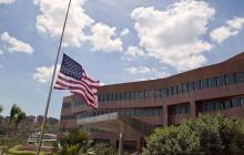 Embajada de Venezuela, cerrada desde el pasado marzo.