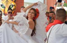 Isabella Chams,  reina del Carnaval 2020... ¡pa que lo viva la gente!