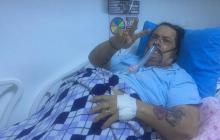 Una bronconeumonía mantiene hospitalizado al maestro Aníbal Velásquez