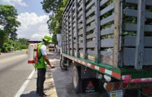 El ICA realiza controles entre transportadores de carga.