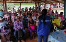 Habitantes de Brazo Izquierdo en Córdoba reciben jornada de atención tras incursión armada