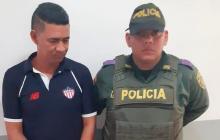 Walberto Guerrero Arrieta, capturado.