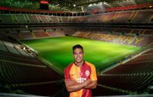 Falcao en el Türk Telekom Arena, casa del Galatasaray con aforo para 52.652 personas.