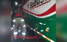 Bus atropella a hombre en sector de Los Tres Postes